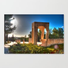 Memorial To Those Slain by Terror  Canvas Print