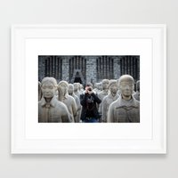 army Framed Art Prints featuring Army by AgusParedesmx