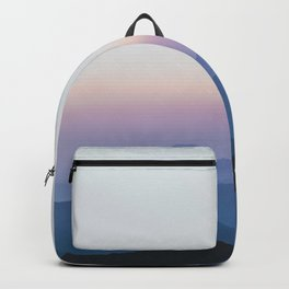 Sunset in the Annapurnas Backpack