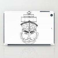 gentleman iPad Cases featuring Gentleman  by Brandon Harmon Design