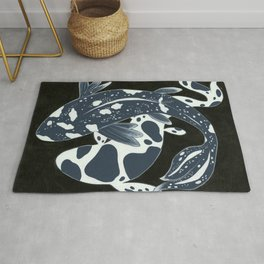 Starry Night Koi Rug