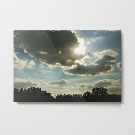 Sunshine Again Metal Print
