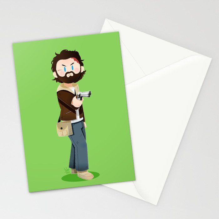 Little Warriors: Rick Stationery Cards