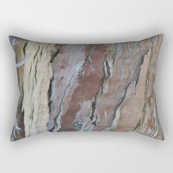 TEXTURES -- Fern-Leaved Ironwood Bark Rectangular Pillow
