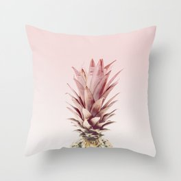 pineapple blush Throw Pillow