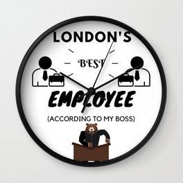 London's Best Employee Wall Clock