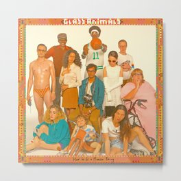 Glass Animals - How to be a Human Being Metal Print