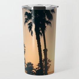 California Dreaming; Summer Beachside Sunset Travel Mug