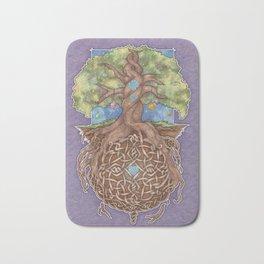 Gaia Life Tree Yggdrasil Bath Mat