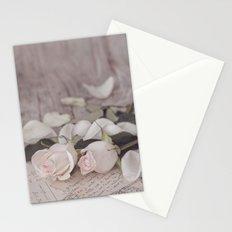 Pink Rose nostalgic Still Life Stationery Cards