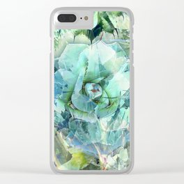 """""""AGAVEMAN"""" BY ROBERT DALLAS Clear iPhone Case"""
