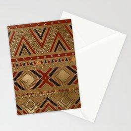 Aztec Ethnic Pattern Art N8 Stationery Cards