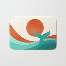 Wave (day) Bath Mat