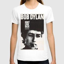 Vintage 1967 Don't Look Back Bob Dylan Movie Poster T-shirt