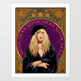 Stevie Nicks Tarot The High Priestess Art Print