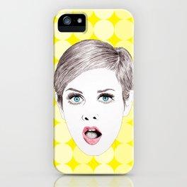 twiggy iPhone Case