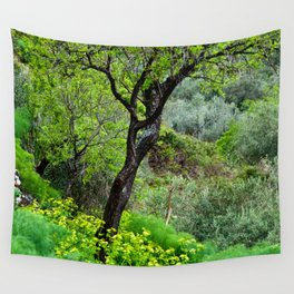 SICILIAN SPRING Wall Tapestry