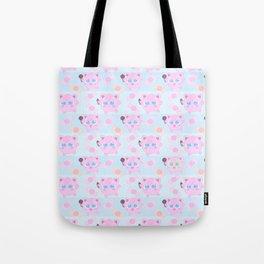 Jigglypuff pattern Tote Bag