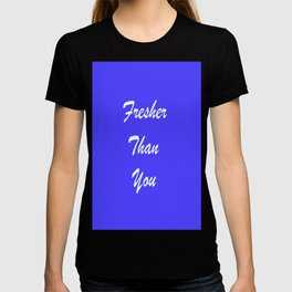 Fresher Thank You : Periwinkle T-shirt