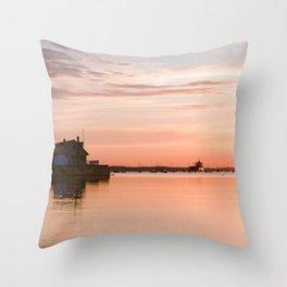 Sunrise Beach - cm2b Photography (5 of 7) Throw Pillow