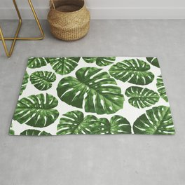Tropical Leaf Rug