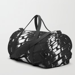 shot on iphone .. wet cobblestones Duffle Bag