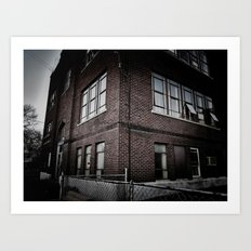 Brick By Boring Brick Art Print