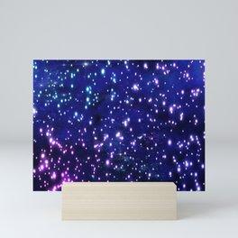 Blue Glow Mini Art Print