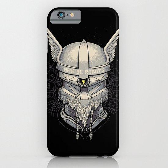 Viking robot iPhone & iPod Case