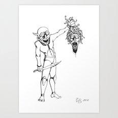 Perseus and Medusa Art Print