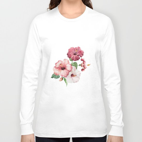 The shadow of flowers Long Sleeve T-shirt