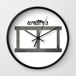 Writer's Block Wall Clock