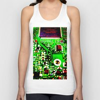 chess Tank Tops featuring Chess 2044 by BarWy