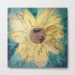 Sunflower madness Metal Print