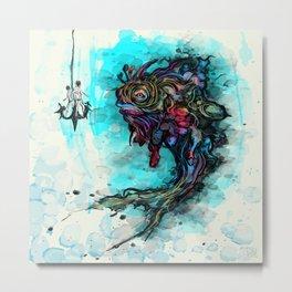 Fume Fish Metal Print