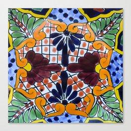 Talavera Two Canvas Print