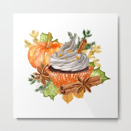 Everything Pumpkin Spice Metal Print