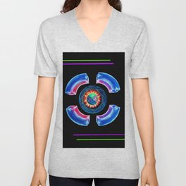 Abstract in Perfection - Magic of the colors Unisex V-Neck