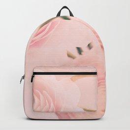 Pink Nursery Ranunculus III Backpack