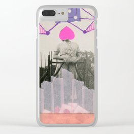 Wrong Love Clear iPhone Case