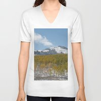colorado V-neck T-shirts featuring Colorado by Chris Root