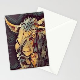 """ Minotaur "" Stationery Cards"