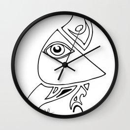 Watching Eye Wall Clock