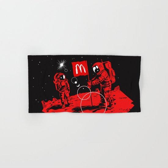 First we take Manhattan, Then we take Mars Hand & Bath Towel