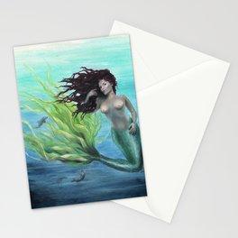 Calypso Nude Mermaid Underwater Stationery Cards