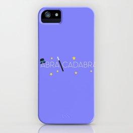 Abracadabra Wizard   iPhone Case