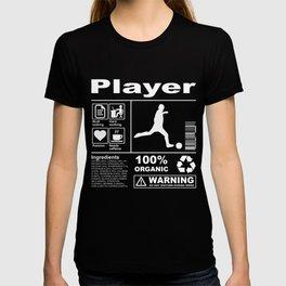 Player Product Description T-shirt