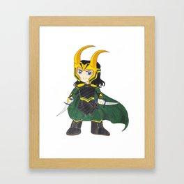 Loki - Thor: Ragnarok Framed Art Print