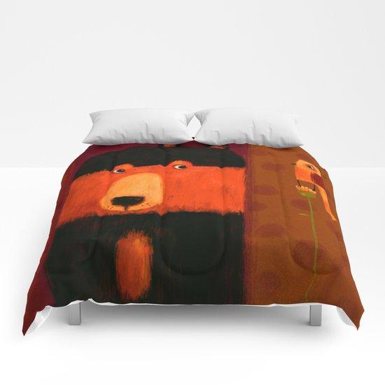 SIDE GLANCE Comforters