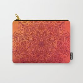Sun Mandala Carry-All Pouch